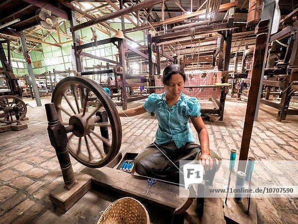 Silk Embroidery  Myanmar