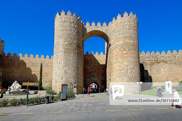 Mittelalter Kathedrale Avila Spanien