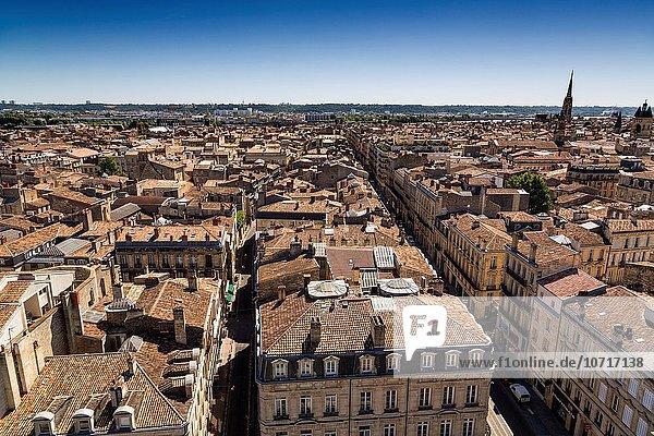 Panorama Frankreich Europa Aquitanien Bordeaux Gironde