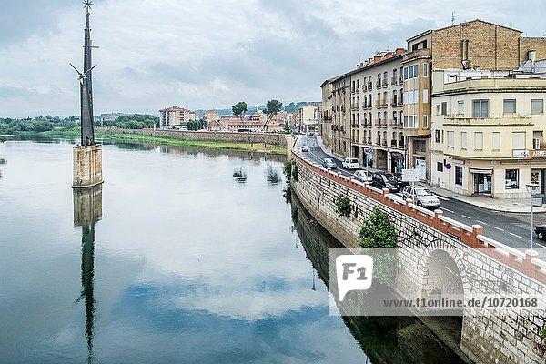 Flussufer Ufer Stadt Katalonien alt Spanien Tarragona