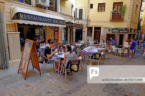 Cafe Restaurant Außenaufnahme ES350 Spanien Toledo