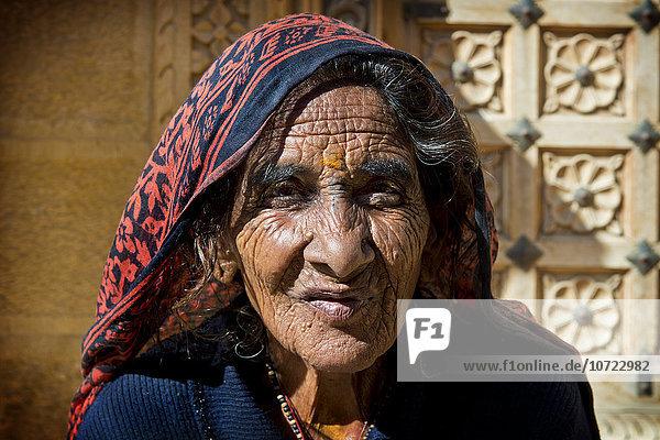 India  Rajasthan  Jaisalmer  woman