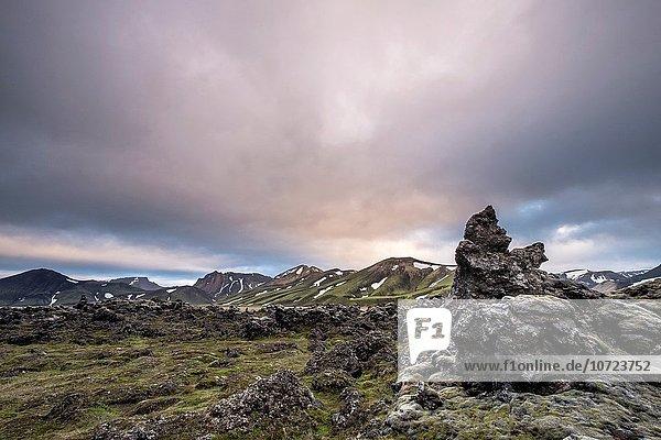 Landmannalaugar area  Highland Iceland.