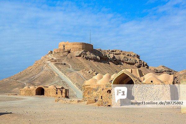 Iran  Yazd City  Dakhmeh-ye Zarstoshtiun  Zoroastrian Towers of Silence .