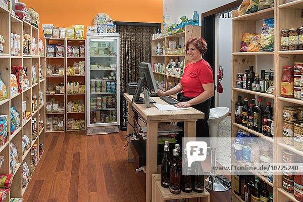 Lebensmittel Bioprodukt Laden Pflanze