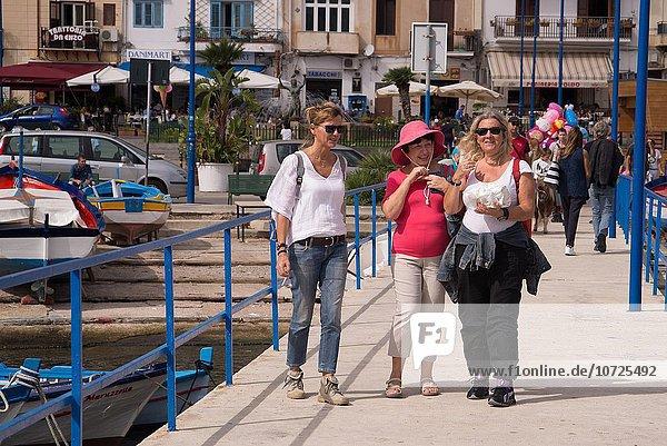Tourist Italien Palermo Sizilien