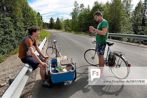 Bruder Urlaub Sommer Jämtland