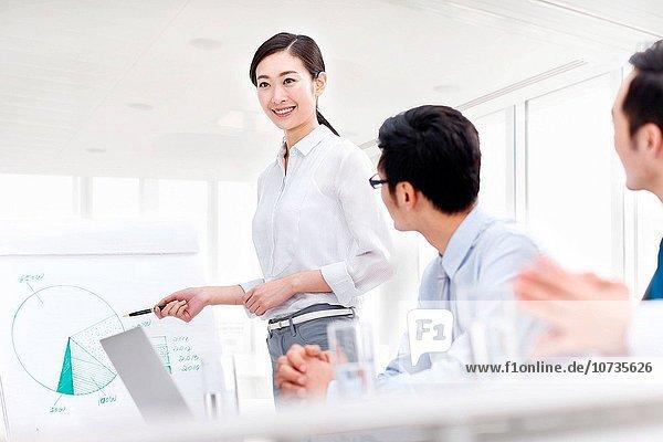 Mensch Büro Menschen Geschäftsbesprechung Besuch Treffen trifft Ar Business