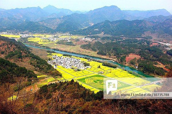 Landschaftlich schön landschaftlich reizvoll Anhui