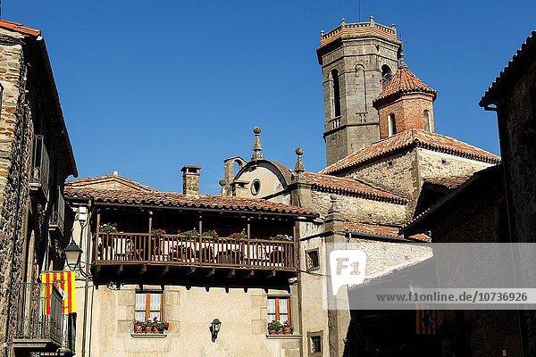 Europa Quadrat Quadrate quadratisch quadratisches quadratischer Dorf Geographie Barcelona Spanien