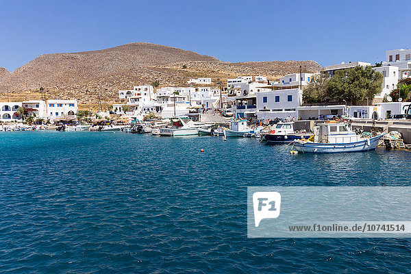 Greece  Cyclades  Folegandros Island  the harbour