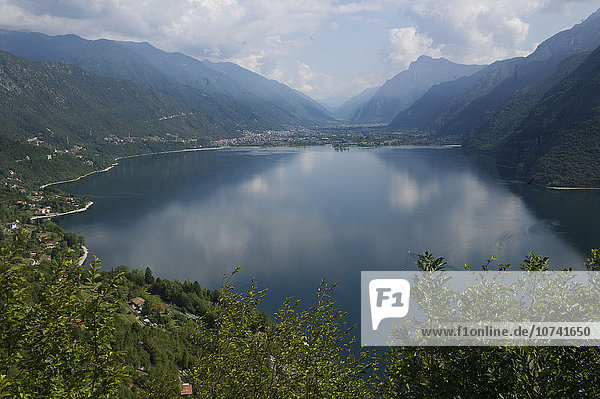 Europe  Italy  Lombardy  Mount Censo on Lake Idro in Val Sabbia
