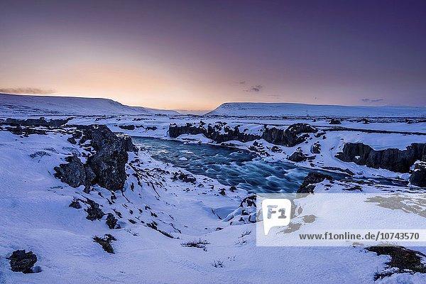 Winter Mývatn Island