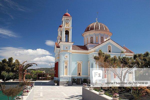 Europa Kirche Geographie Chania Kreta Griechenland Griechische Inseln