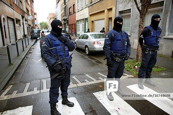 Wohnhaus Brüssel Hautpstadt suchen Zimmer Festnahme Islam Belgien Polizei