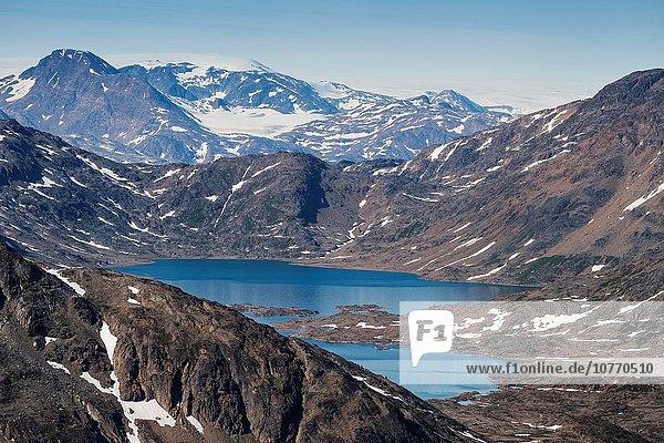 Tasiilaq Grönland Berglandschaft