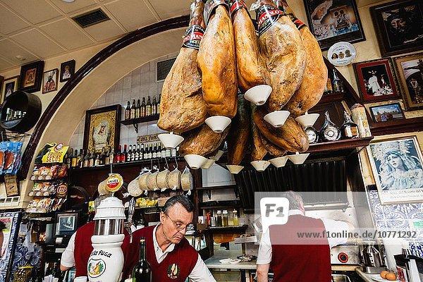 Tradition Tapas Almeria Andalusien Spanien spanisch