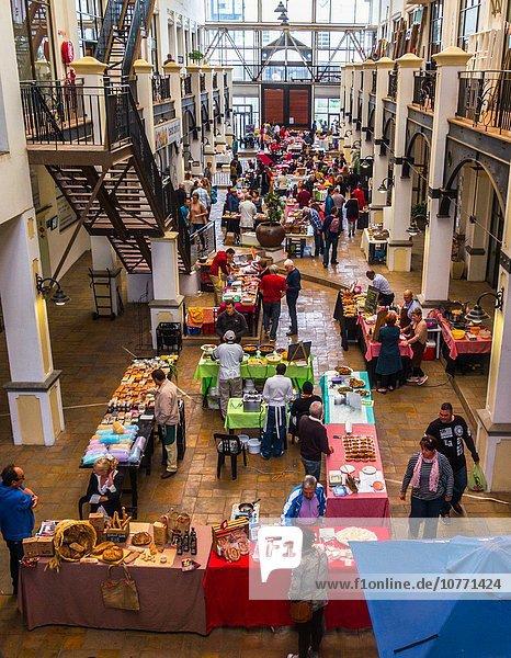 Südliches Afrika Südafrika Frische Morgen Produktion Frühstück Kapstadt Markt Samstag