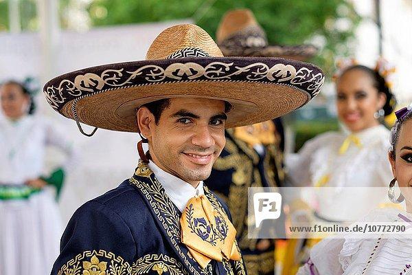 Tradition tanzen Tänzer Vielfalt Kultur Mexiko Kostüm - Faschingskostüm Symbol