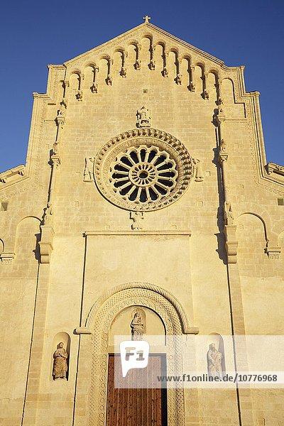 Kathedrale  Matera  Basilikata  Italien  Europa