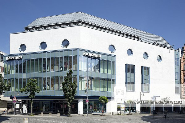 Warenhaus Karstadt in der Innenstadt  Rosenheim  Oberbayern  Bayern  Deutschland  Europa
