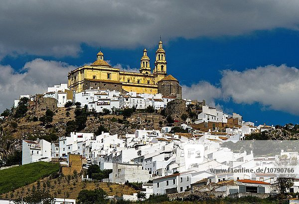 Kirche Andalusien Olvera Spanien