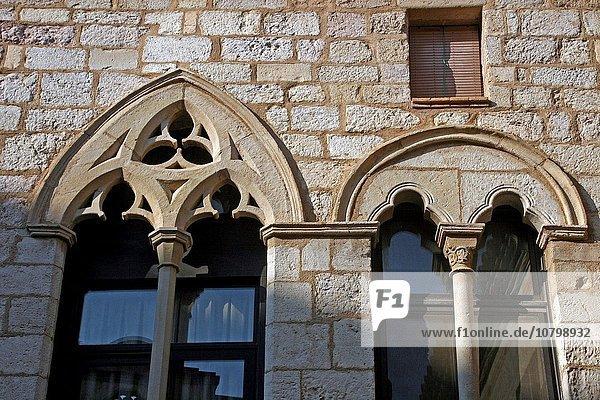 Montblanc Mont Blanc Geographie Katalonien Spanien Tarragona Provinz
