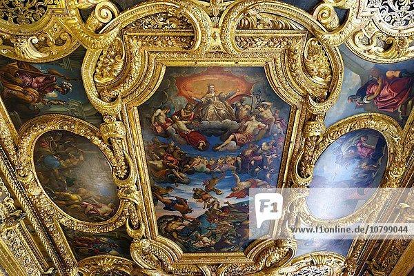 Palast Schloß Schlösser Italien Venedig Innenansicht