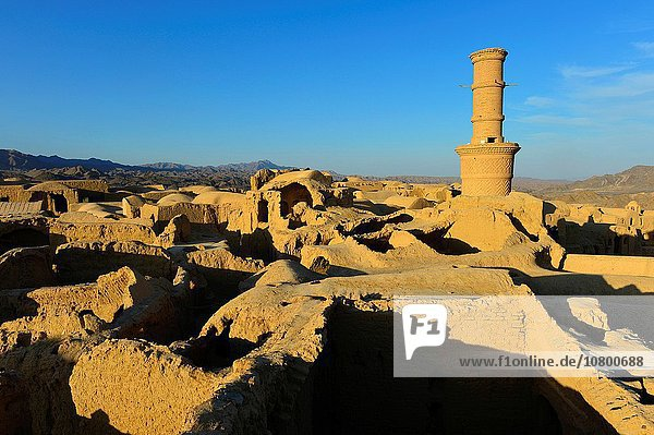 Ancient village near Yazd  Iran.