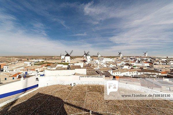 Windmills of Campo de Criptana. La Mancha  Spain