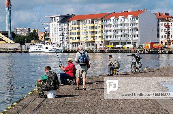 Fischereihafen Fischerhafen Europa Fischer Polen
