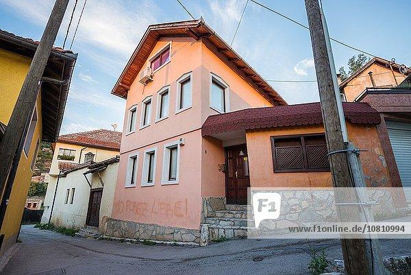 Sarajevo Hauptstadt Gebäude Bosnien-Herzegowina Ortsteil