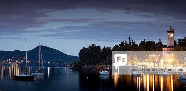 Lesa  Lago Maggiore  Piemont  Italien