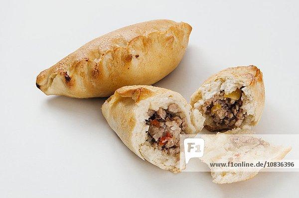 Kibiny (Teigtaschen mit Fleischfüllung  Osteuropa)