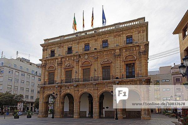 Rathaus  Castellon de la Plana  Valencia  Spanien  Europa