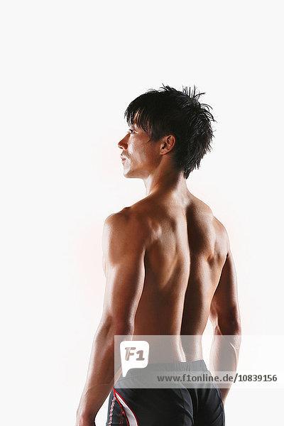 zeigen Athlet japanisch