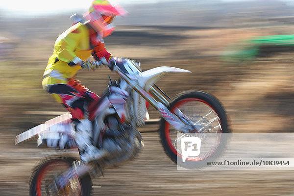Spur schmutzig Motocross