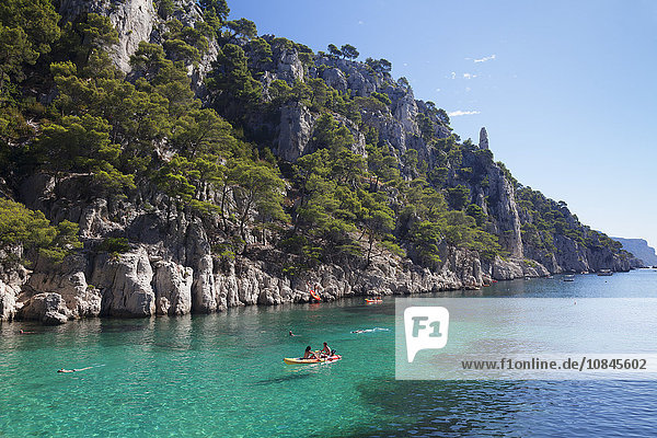 Les Calanques d'en Vau  National Park  Cassis  Provence  Provence-Alpes-Cote d'Azur  Southern France  France  Mediterranean  Europe