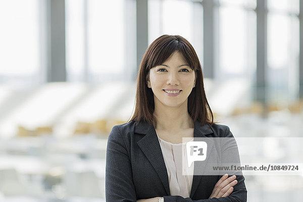 Portrait Geschäftsfrau Hoffnung