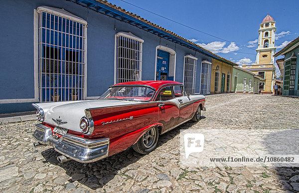 Ford Oldtimer  Trinidad  Kuba  Amerika