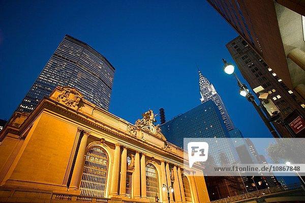 Grand Central Station  Manhattan  New York City  USA