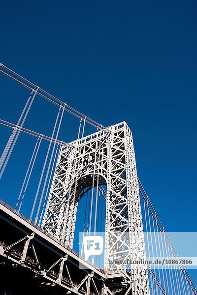 George-Washington-Brücke  Manhattan  New York City  USA