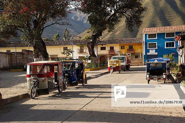Stadt Ollantaytambo  Region Cusco  Peru