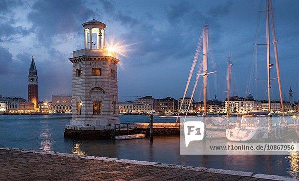 Leuchtturm  Venedig  Italien