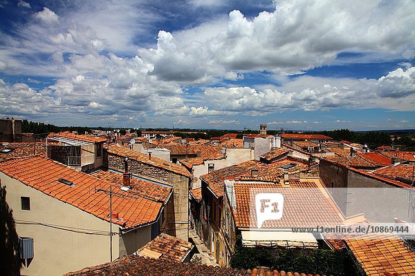 Rooftops in Arles  Provence-Alpes-Cote d'Azur  France