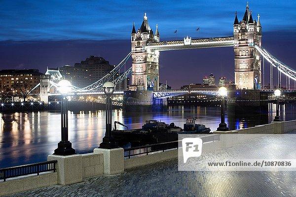 Tower Bridge  London  Großbritannien