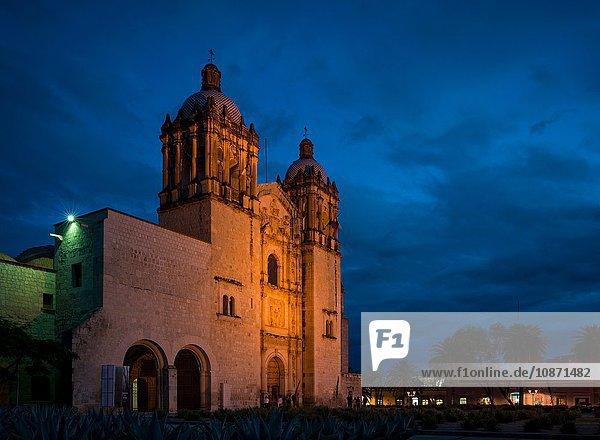 Exterior of Iglesia de Santo Domingo  Oaxaca  Mexico