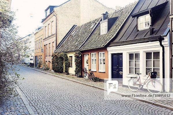Schweden  Skane  Malmö  Gamla Vaster  Häuser in der Altstadt