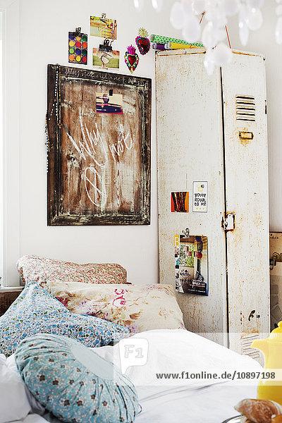 Schweden  Blick ins Schlafzimmer
