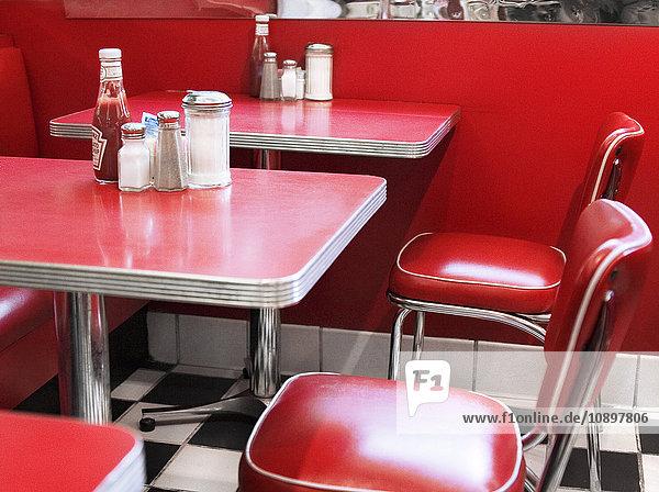 USA  New York  Manhattan  Cafe innen